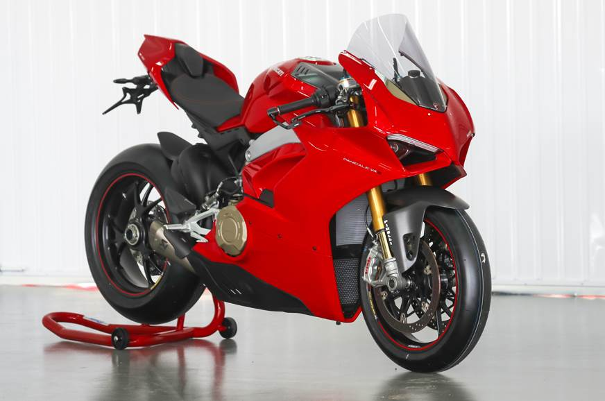 2018 ducati panigale v4 india launch price deliveries. Black Bedroom Furniture Sets. Home Design Ideas