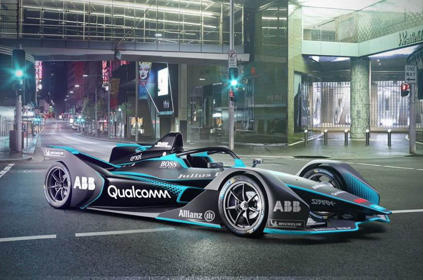 Second-gen Formula E car revealed