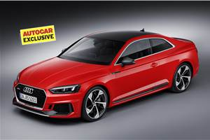 SCOOP! New Audi RS5 Coupe India launch next month
