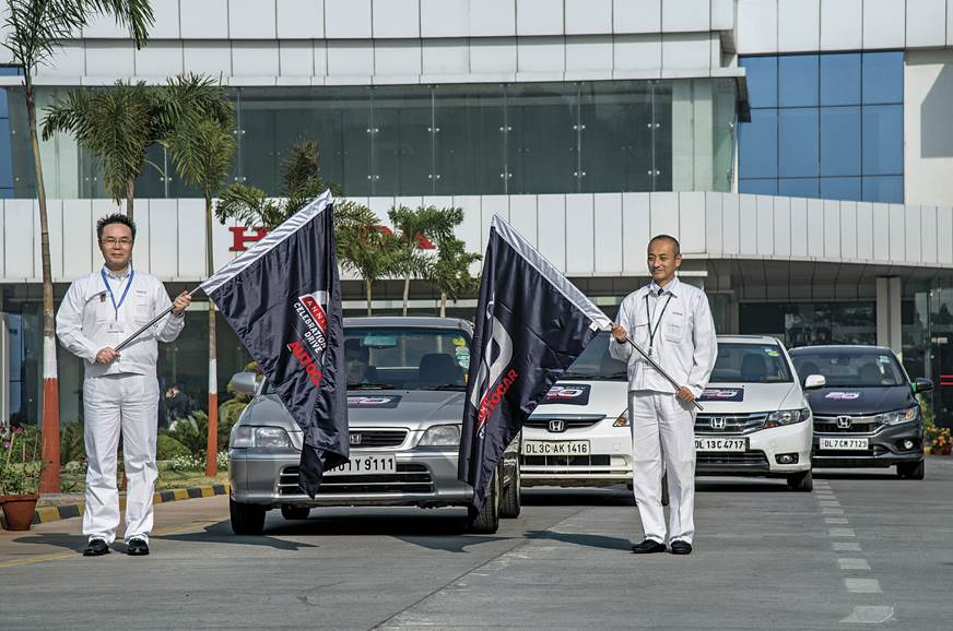 Honda Cars India's Makoto Hyoda (joint operating head), a...