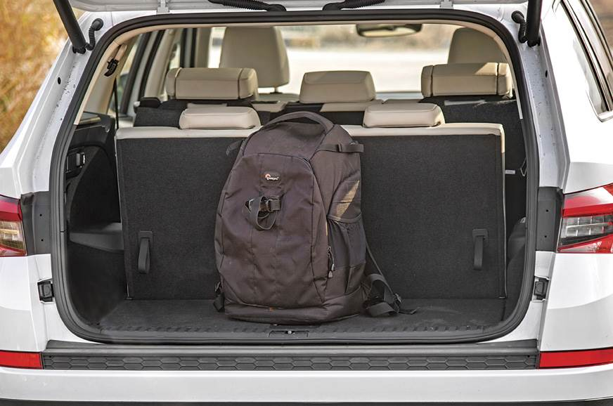 You get a decent 270 litres of boot space even with all t...