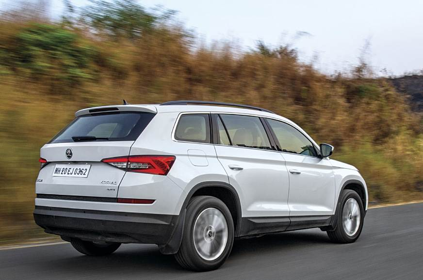 It looks like a big and bulky SUV, but light steering and...