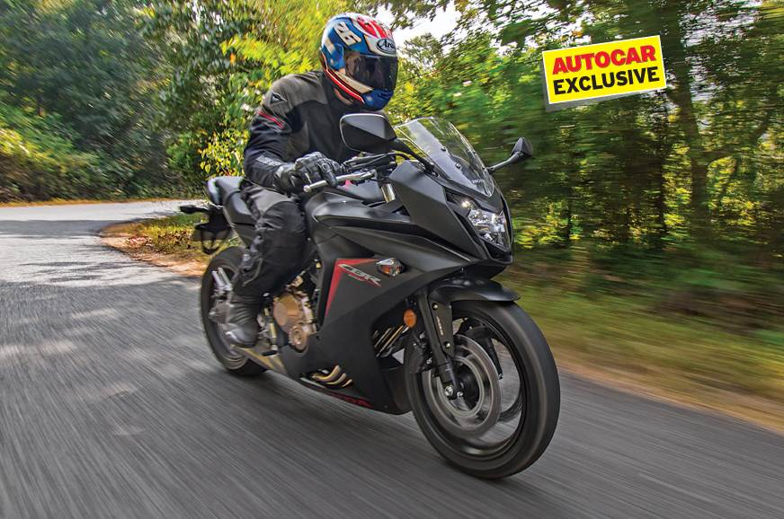 2017 Honda CBR650F review, first ride
