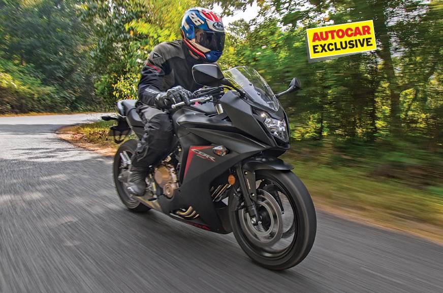 2017 Honda CBR650F review, first ride
