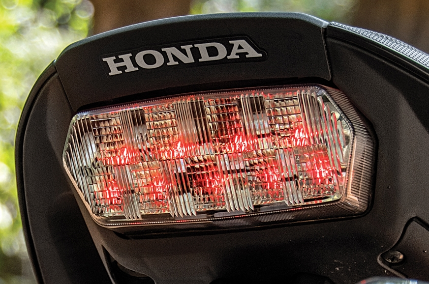 LED tail-light gets a clear lens.