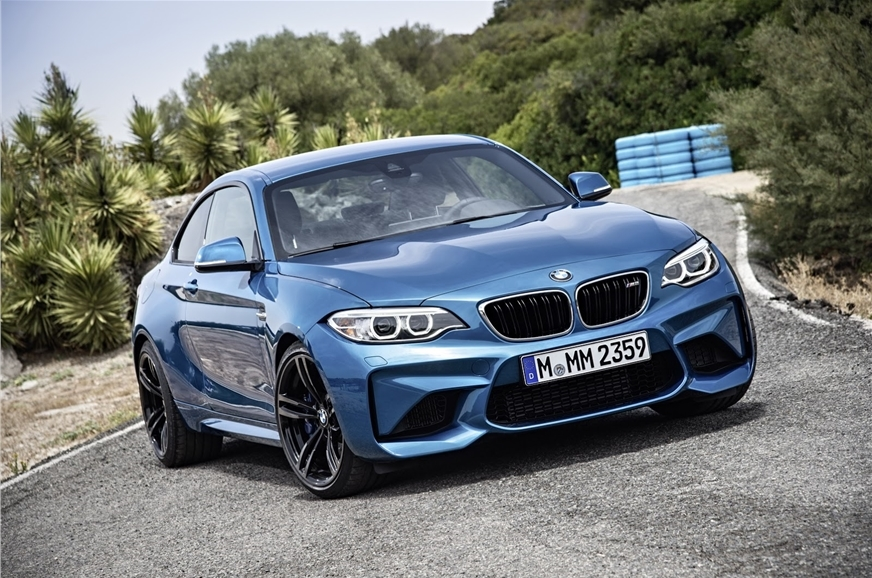 The standard BMW M2.