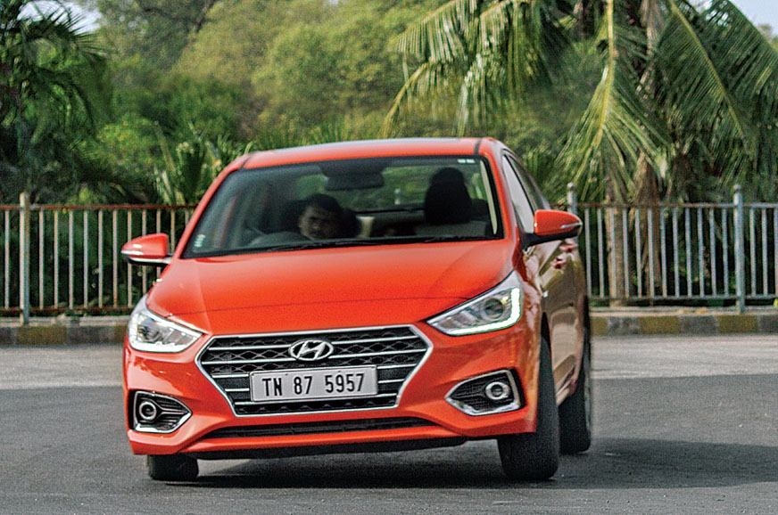 Its Superbody Structure gives the new Verna superior hand...