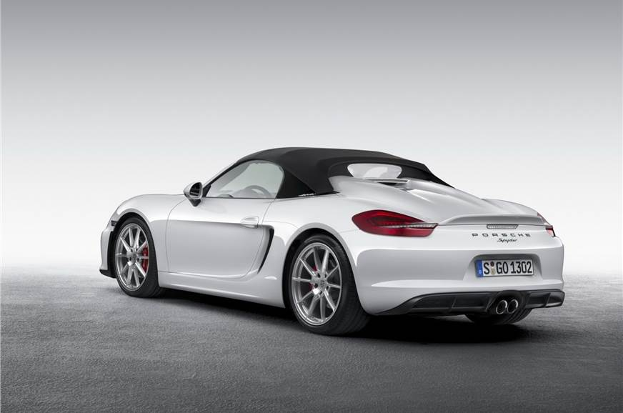 The previous-gen Boxster Spyder.