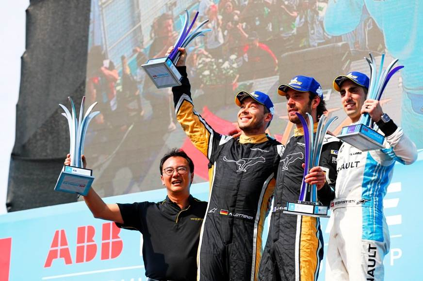 Santiago ePrix: Vergne leads Techeetah one-two