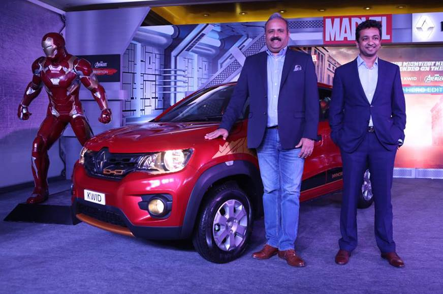 The Ironman trim on the new Kwid.
