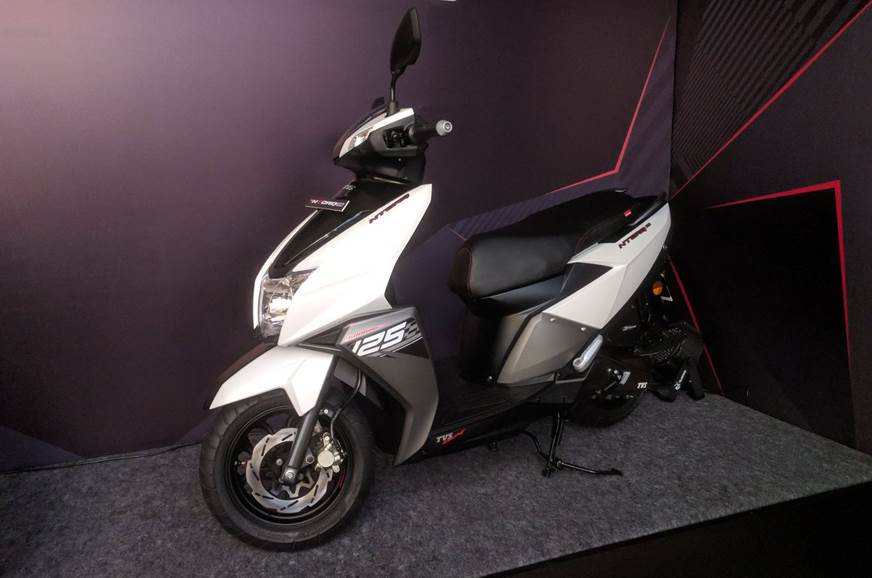 2018 TVS Ntorq 125 scooter launched at Rs 58,750