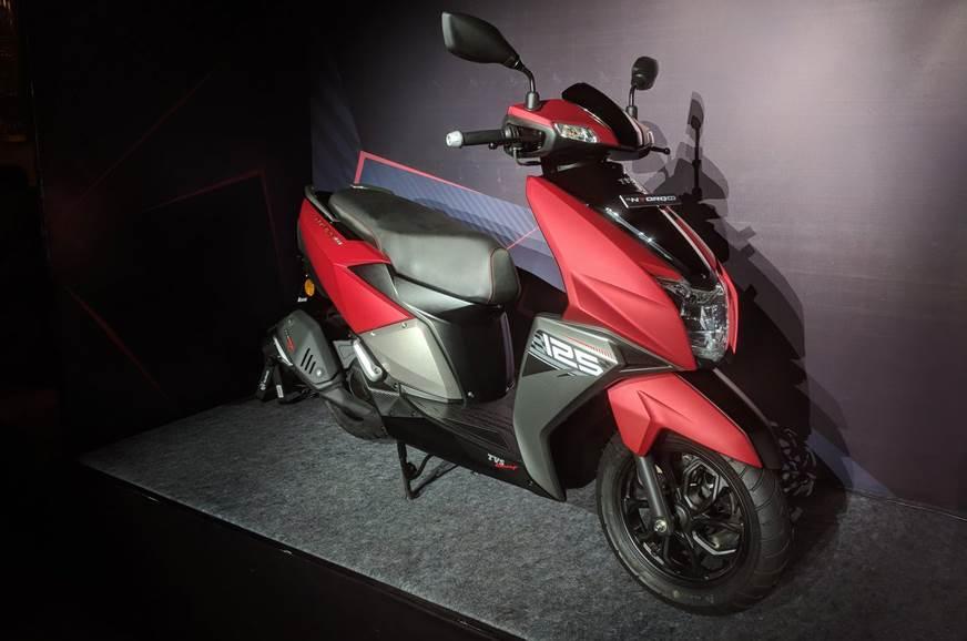 Auto Expo 2018 Tvs Ntorq 125cc Scooter Launch Price