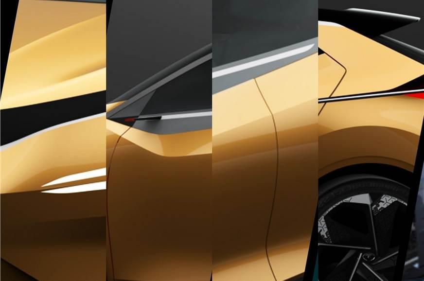 Tata X451 hatchback teaser.