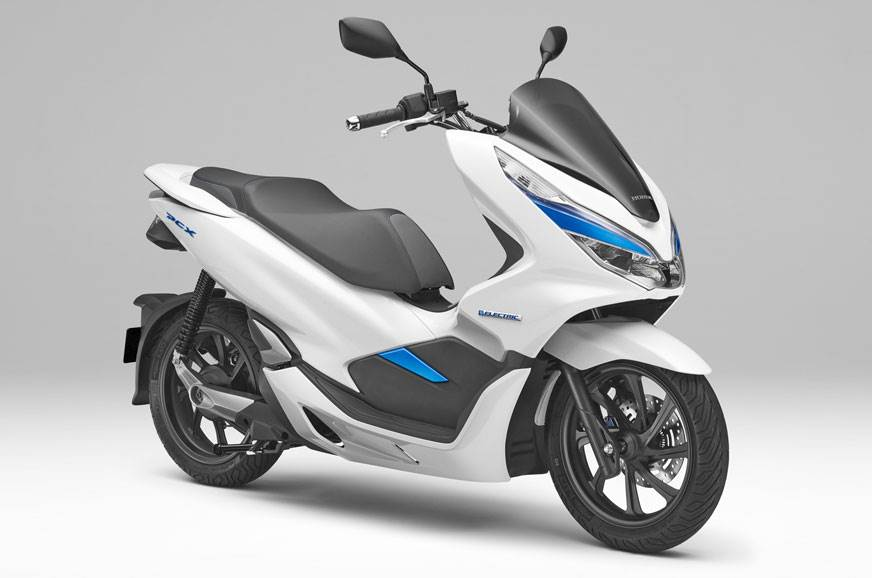 The PCX electric scooter.