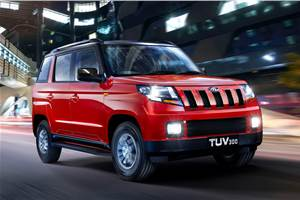 Mahindra TUV300 now available in 100hp version only