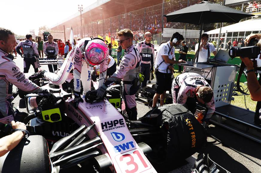 Formula 1 to feature grid kids
