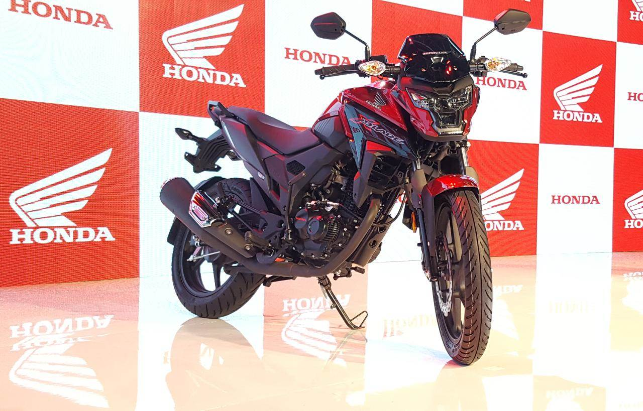 Honda X-Blade unveiled in India at Auto Expo 2018
