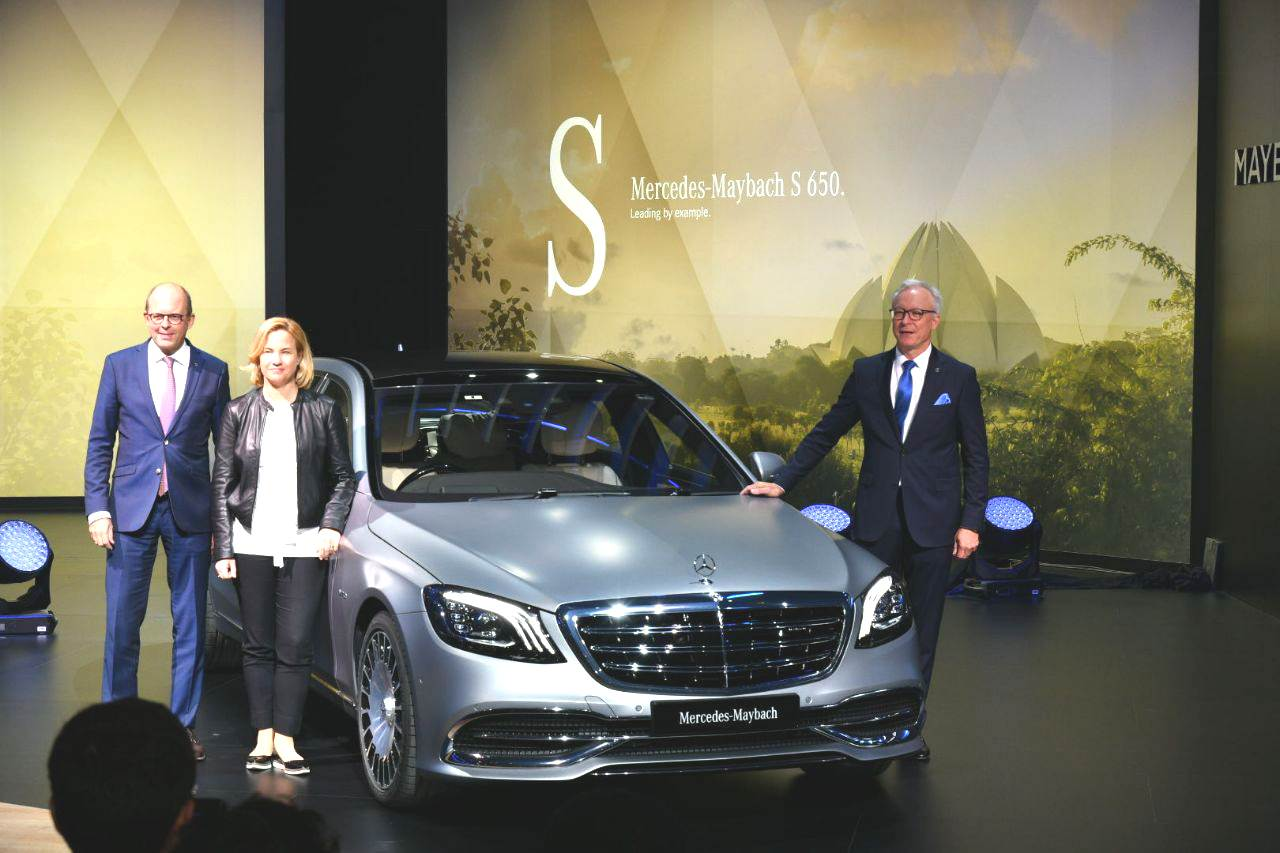 Mercedes-Maybach S 650 launched at Auto Expo 2018