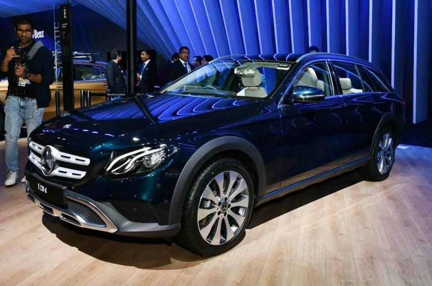 Mercedes E-Class All-Terrain makes India debut at Auto Expo 2018