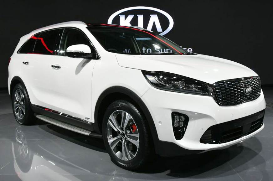 Kia Sorento SUV showcased at Auto Expo 2018