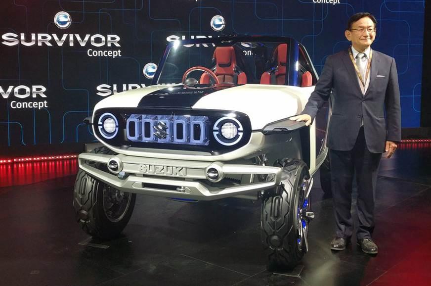 2018 Suzuki e-Survivor concept makes India debut