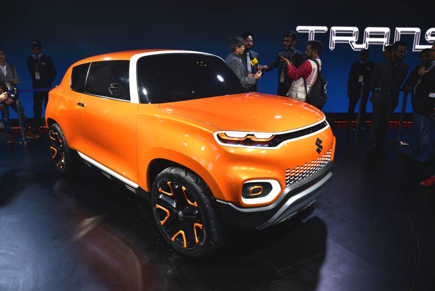 Maruti unveils Future S concept at Auto Expo 2018