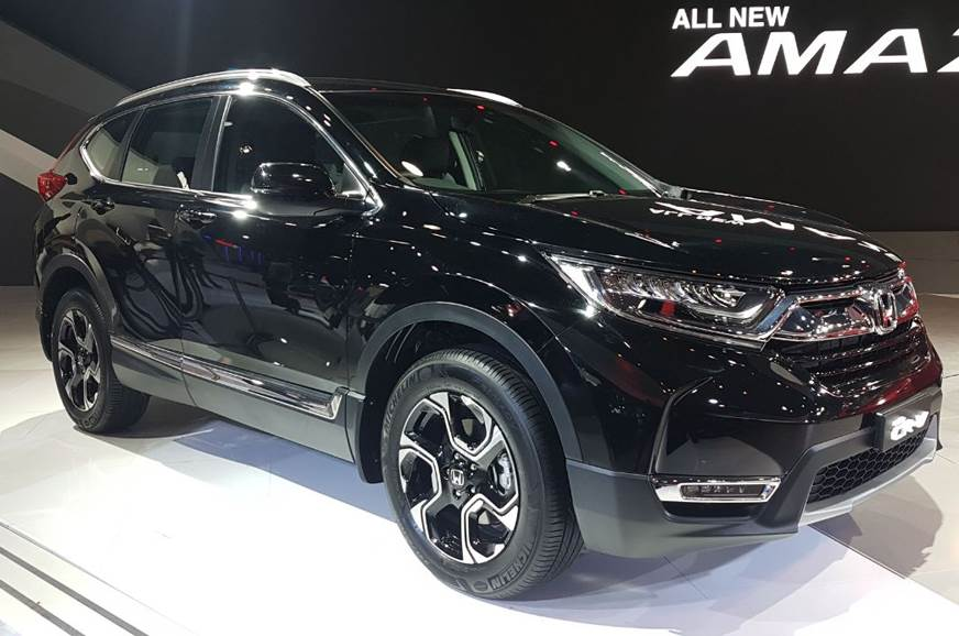 Honda showcases India-bound new CR-V at Auto Expo 2018