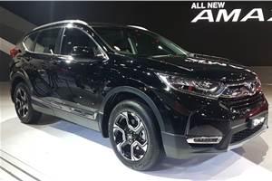Honda showcases India-bound new CR-V at Auto Expo 2018