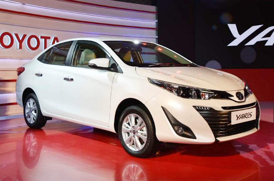 Toyota's Yaris: ready to take on the Honda City