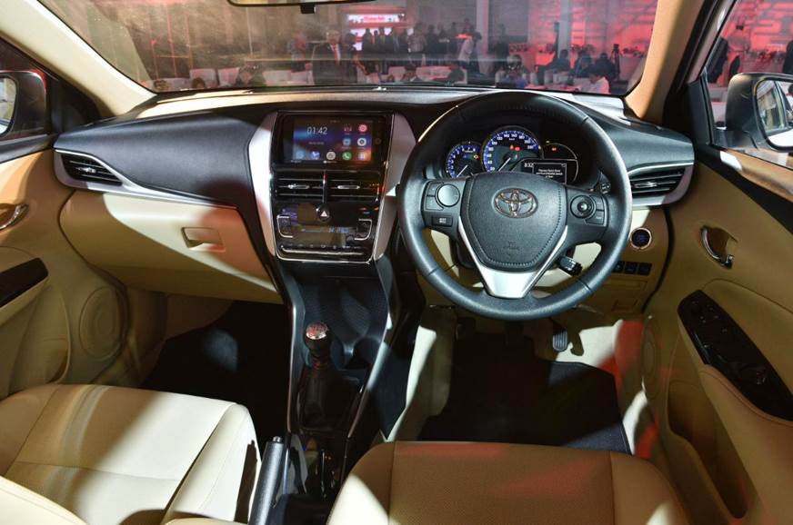 auto expo 2018 toyota yaris sedan showcased ahead of