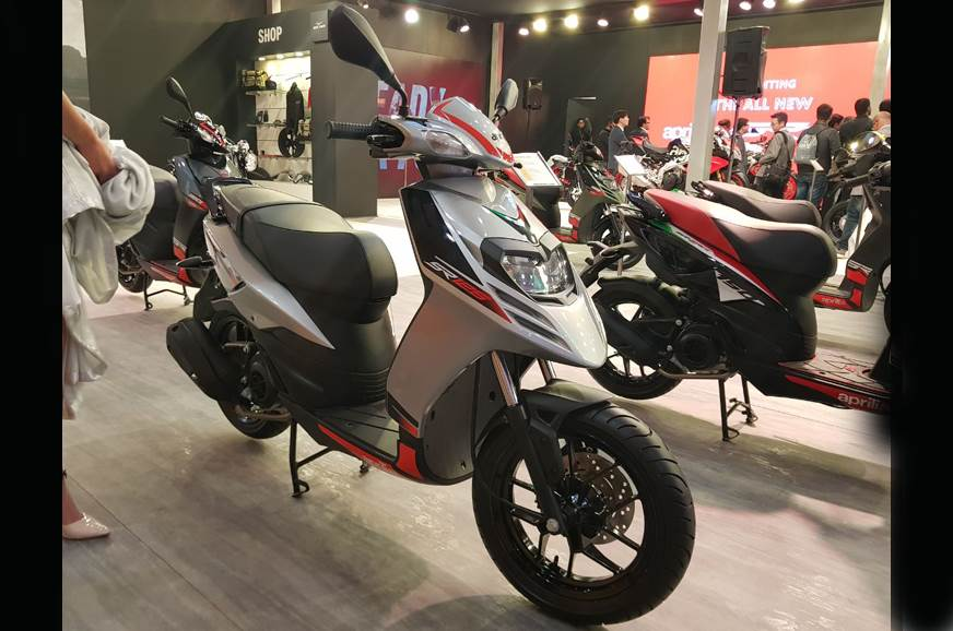 Aprilia SR 125 launched at Rs 65,310 at Auto Expo 2018