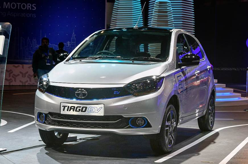 Tata Tiago EV and Tigor EV make their debut at Auto Expo 2018