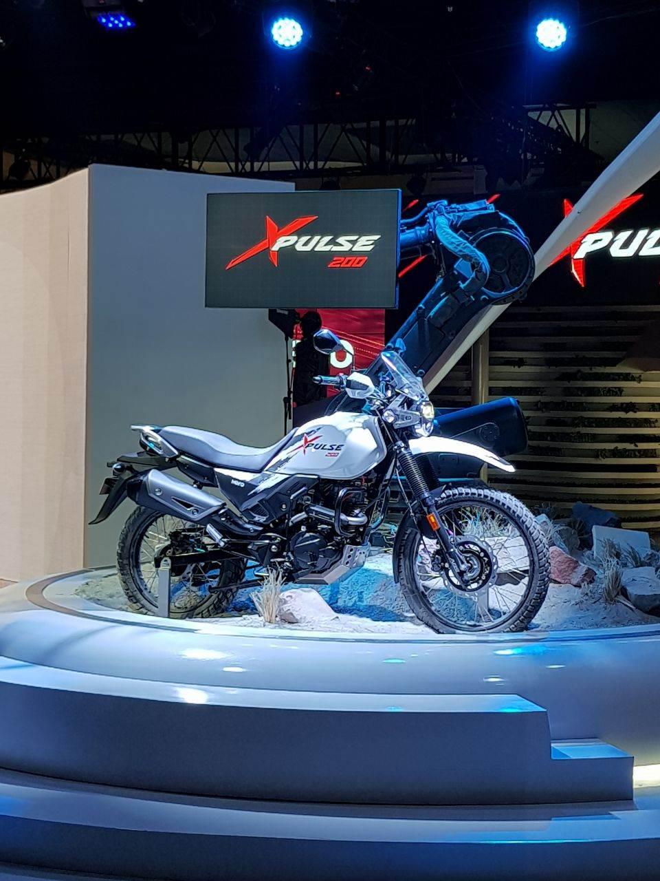 Hero showcases XPulse 200 at Auto Expo 2018