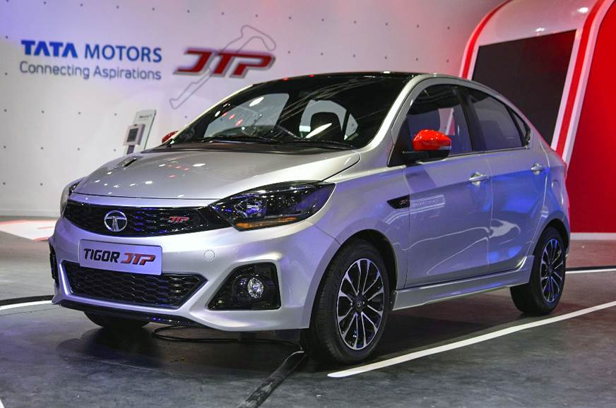 Tata unveils sporty Tiago JTP and Tigor JTP at Auto Expo 2018