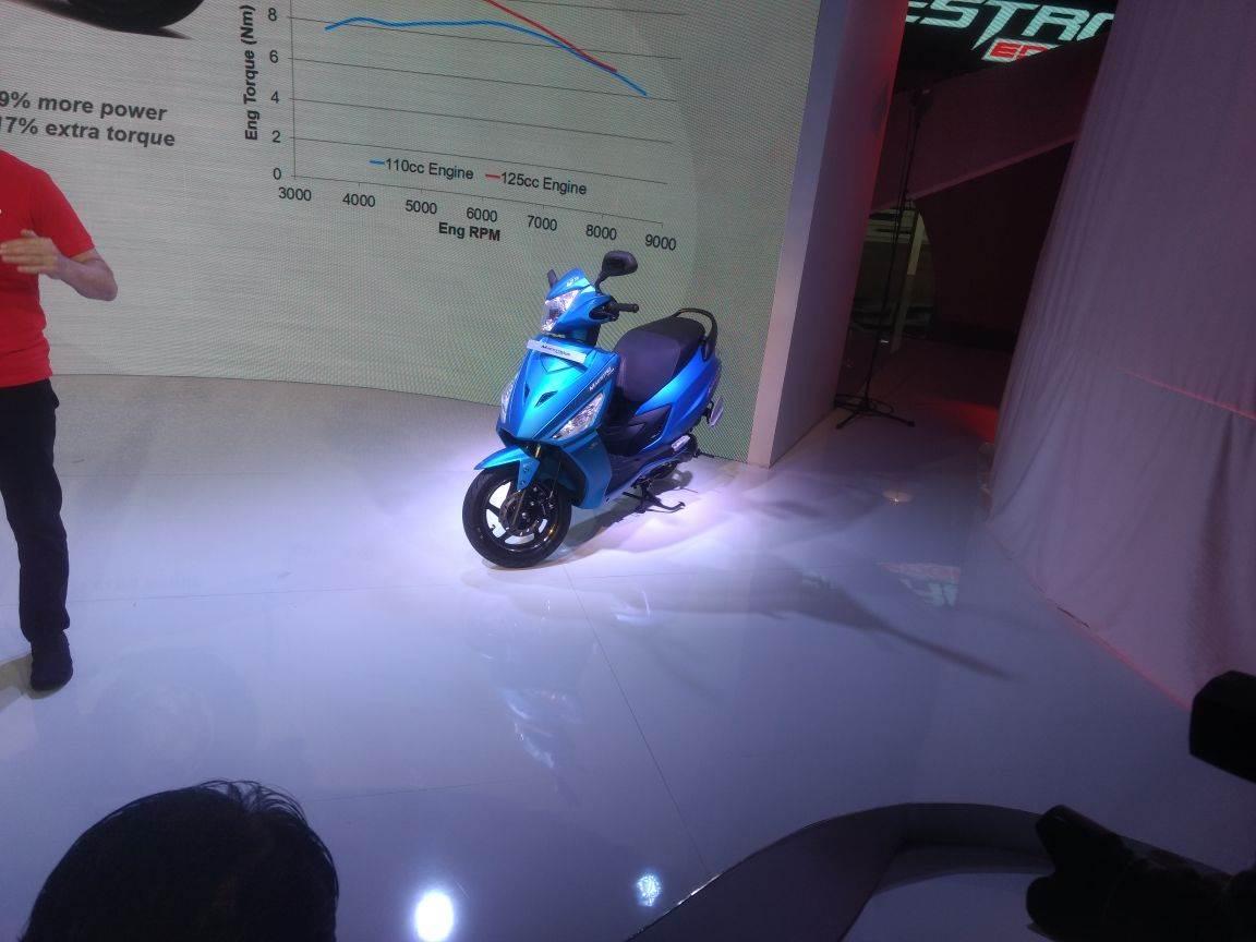 Hero Maestro Edge 125, Duet 125 revealed at Auto Expo 2018