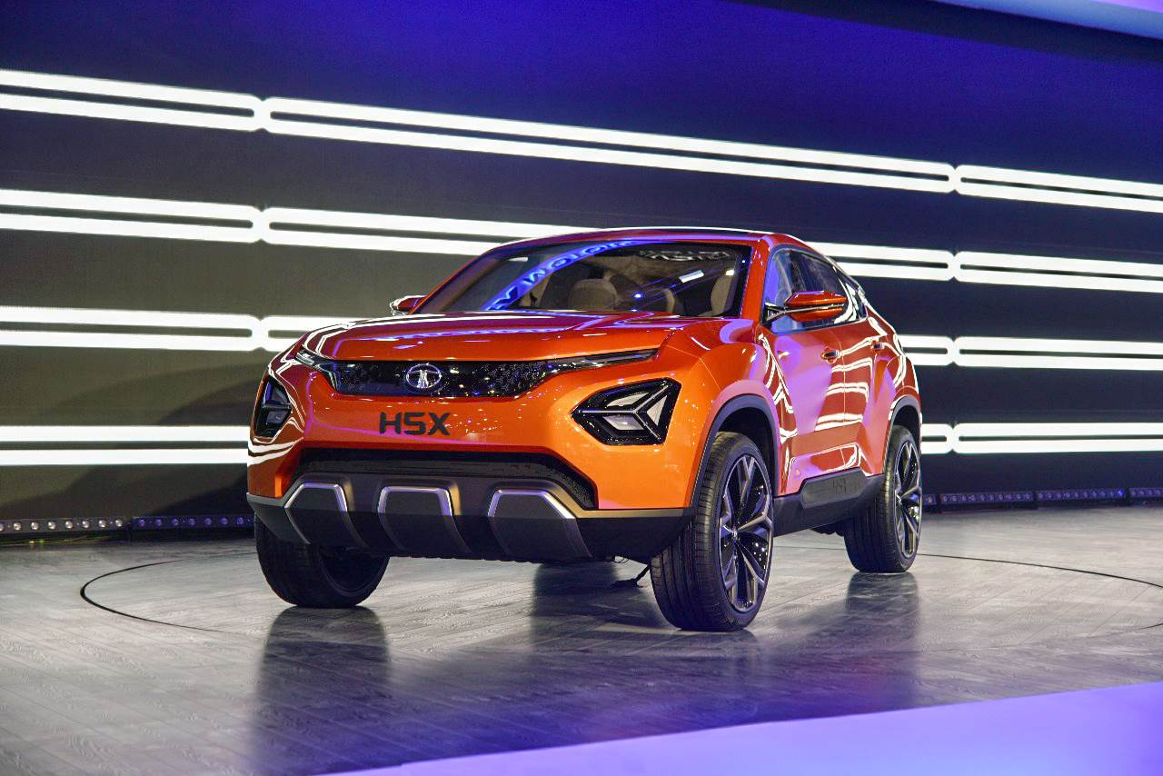 Tata takes wraps off radical H5X SUV concept at Auto Expo 2018
