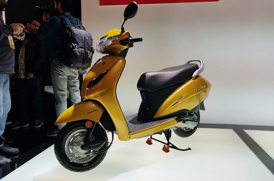 Honda Activa 5G unveiled at Auto Expo 2018