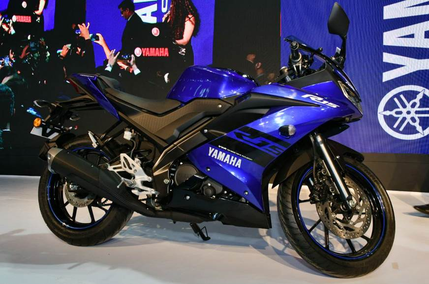 Yamaha YZF-R15 V3.0 launched at Auto Expo 2018