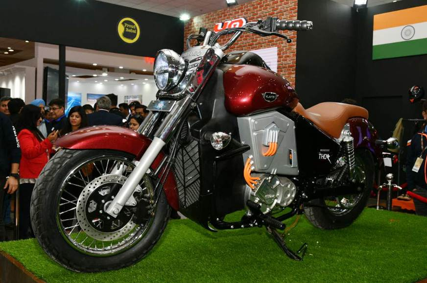 UM Renegade Thor electric bike launched at Auto Expo 2018