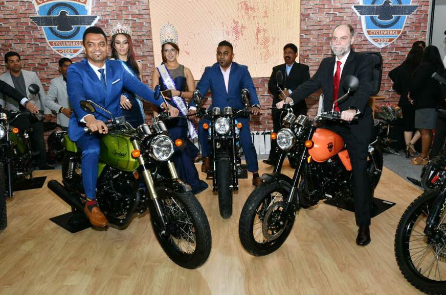 Cleveland CycleWerks unveils four motorcycles at Auto Expo 2018