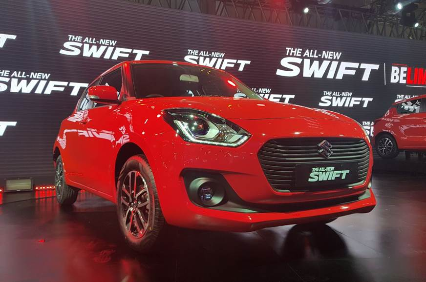 2018 Maruti Suzuki Swift launched at Rs 4.99 lakh