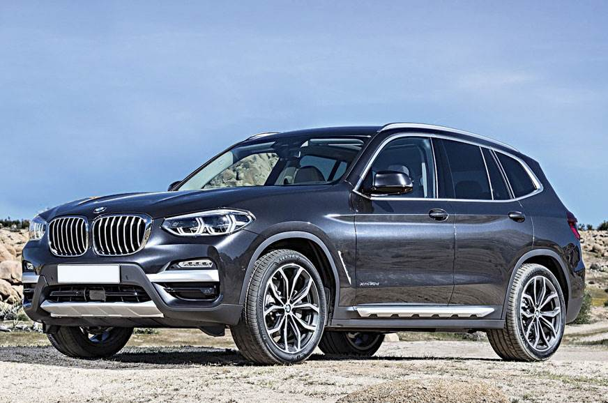 Upcoming BMW X3 showcased at Auto Expo 2018