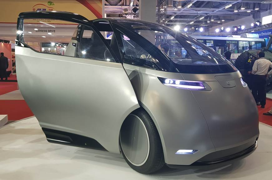 India-bound Uniti One EV showcased at Auto Expo 2018