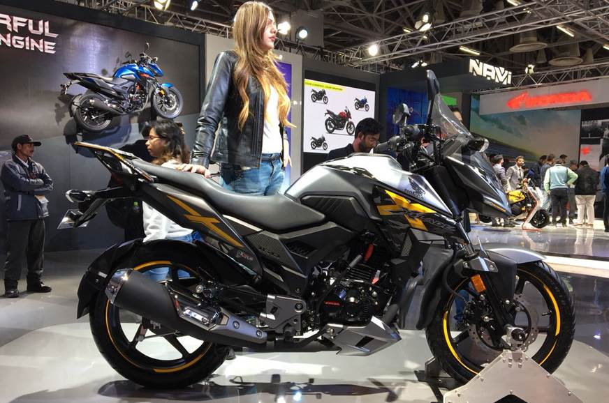 Honda X-Blade Adventure showcased at Auto Expo