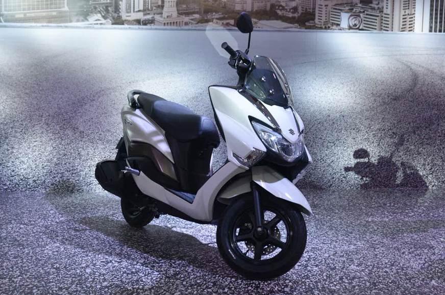 Suzuki Burgman Street unveiled at Auto Expo 2018