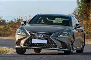 2018 Lexus LS 500h review, test drive