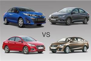 2018 Toyota Yaris vs rivals: Specifications comparison