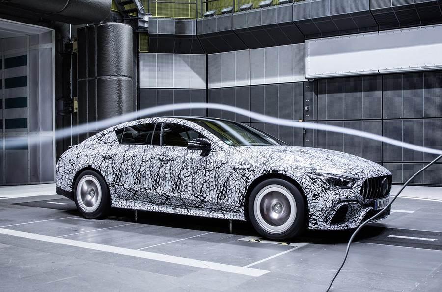 Mercedes-AMG GT four-door test shots released