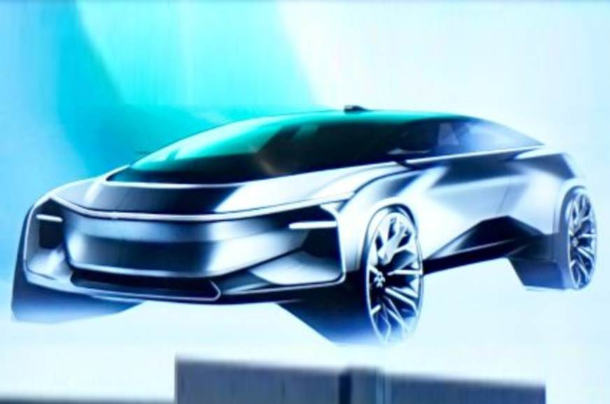 Faraday Future teases new small electric SUV