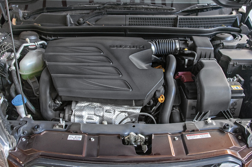 Torquey 120hp, 1.6-litre diesel engine sourced from Fiat.